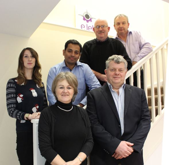 eJet team in new office